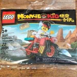 Monkie Kid's Delivery Bike LEGO